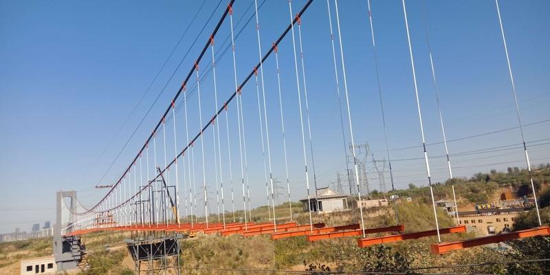 洛阳颐龙仙谷的玻璃吊桥