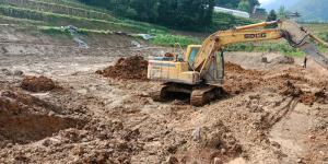 重庆市武隆区复兴村网红五项开挖